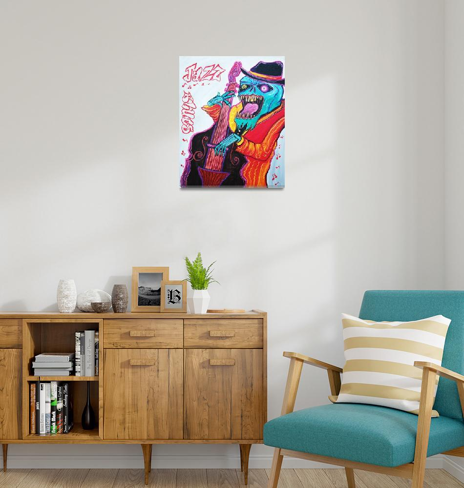 """""""Jazz and Blues""""  (2014) by ArtPrints"""