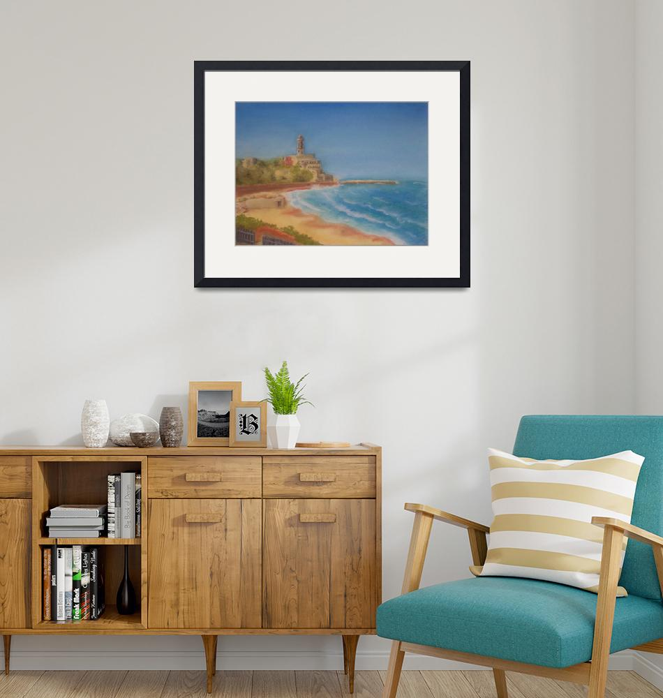 """""""The Beach at Yafo""""  (2009) by Adrichal"""