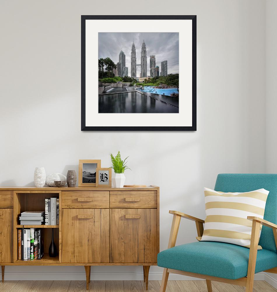 """""""The Petronas Twin Towers""""  by vedd"""