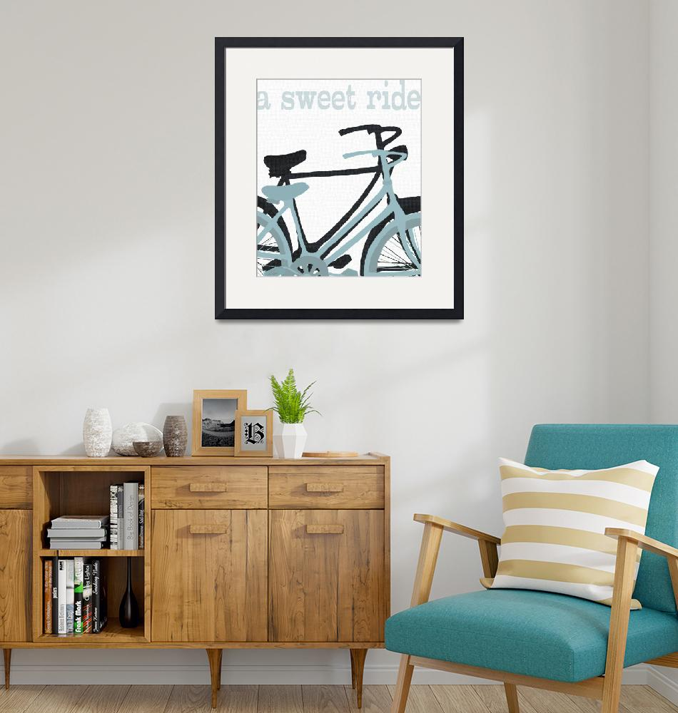 """A SWEET RIDE - VINTAGE BICYCLES""  (2010) by lisaweedn"