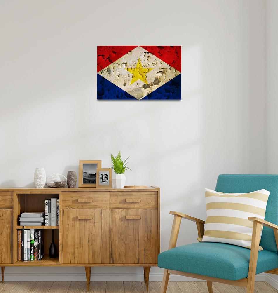 """SABA-FLAG 2""  (2014) by thegriffinpassant"