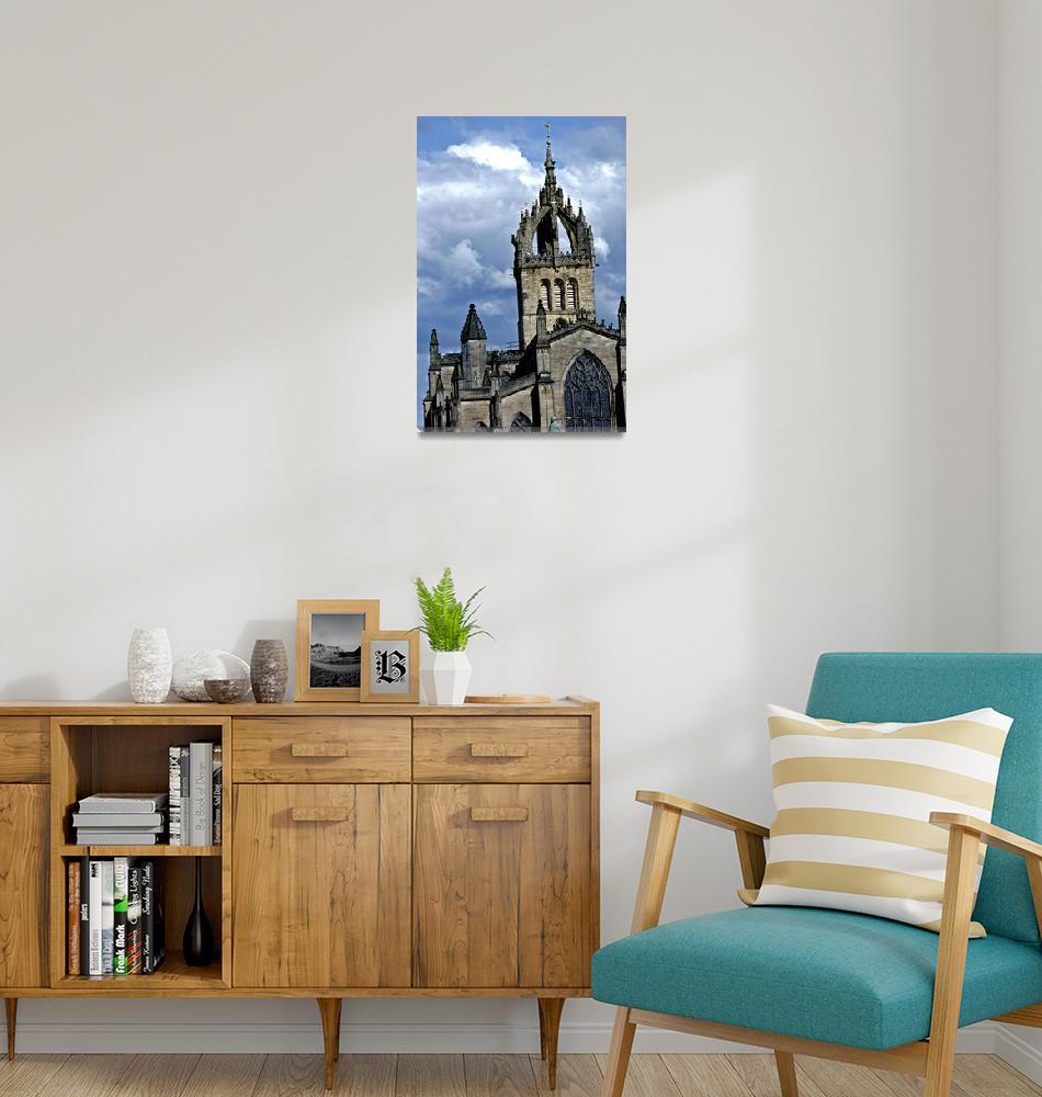 """""""St Giles Cathedral""""  (2012) by aGeekonaBike"""