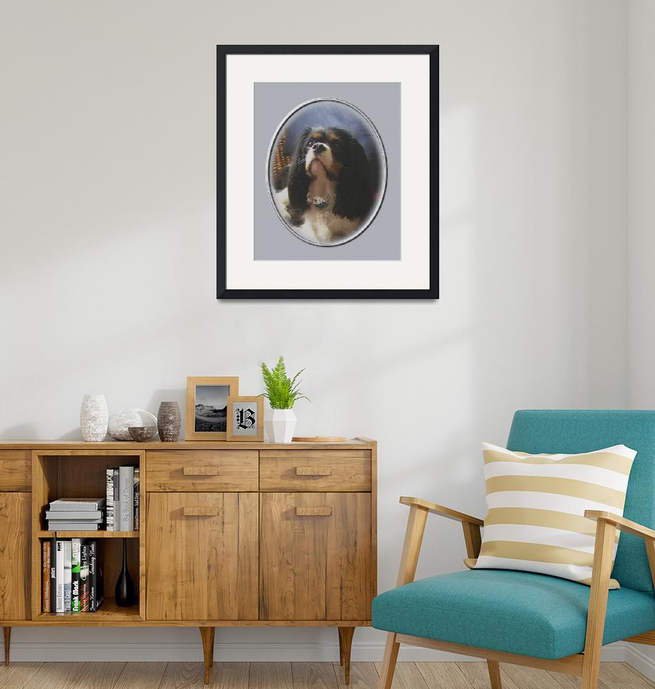 """""""Lily, Cavalier King Charles Spaniel""""  by swargo"""