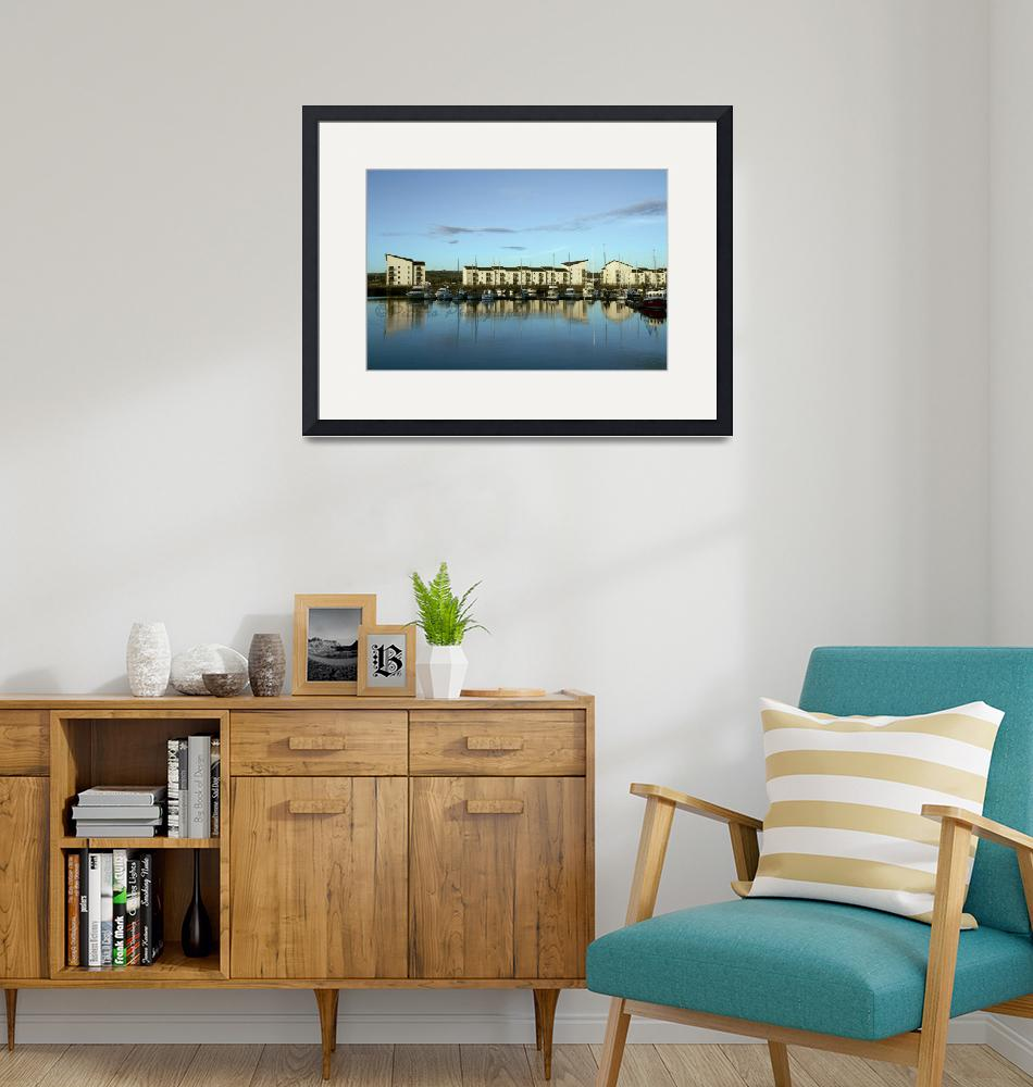"""Ardrossan Harbour""  (2013) by PittaroPhotography"