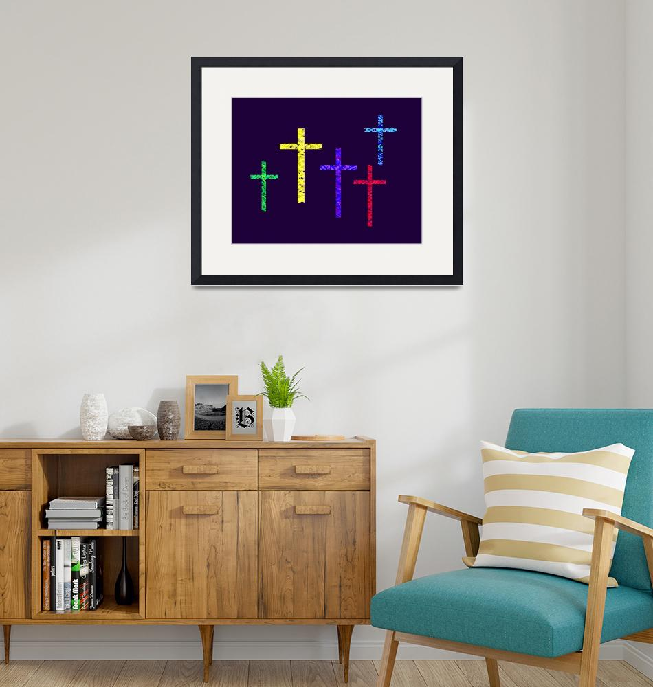 """""""Crucifixion Violet"""" (2012) by TheNorthernTerritory"""