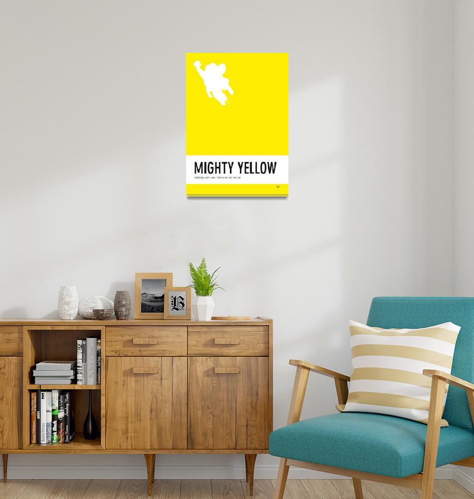 """""""No02 My Minimal Color Code poster Mighty Mouse"""" by Chungkong"""