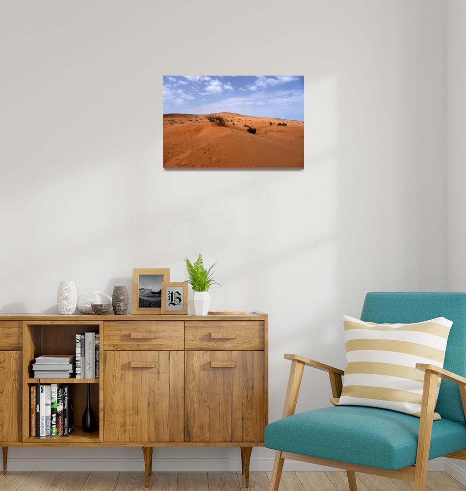 """Morocco, Desert landscape""  (2008) by dhome"