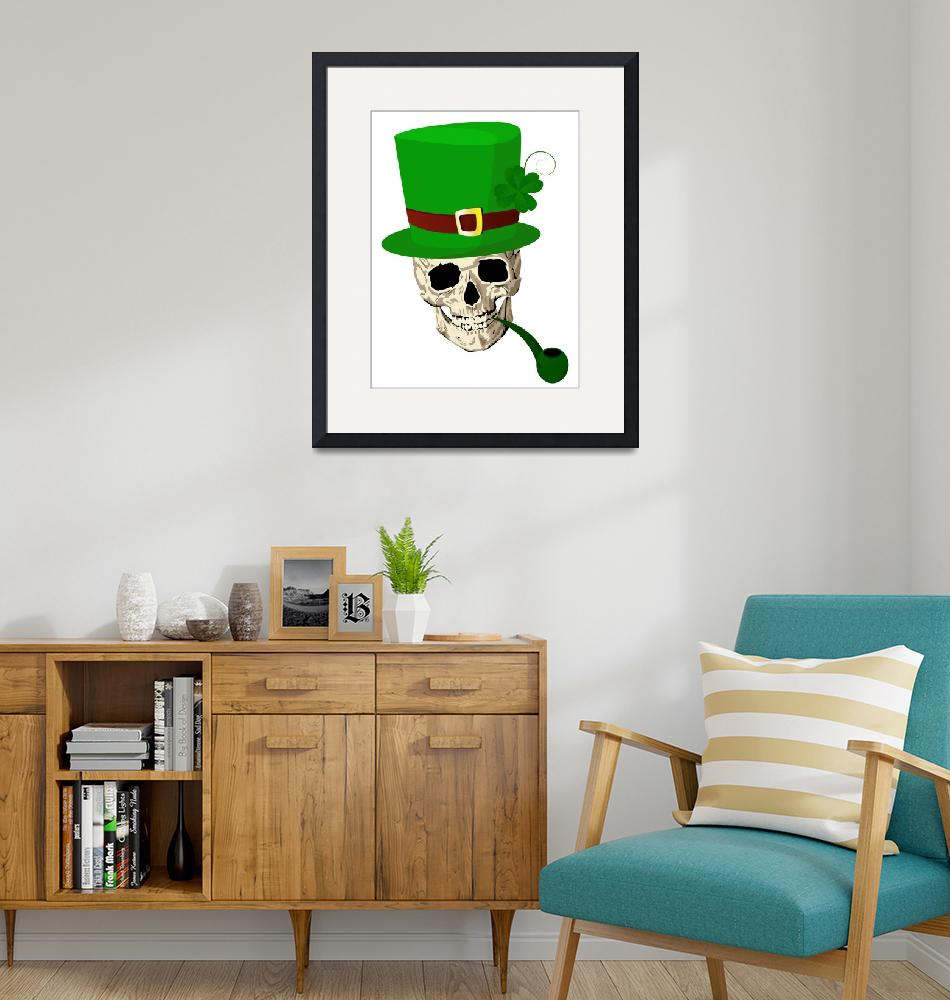 """St.Patrick skull""  (2011) by lirch"