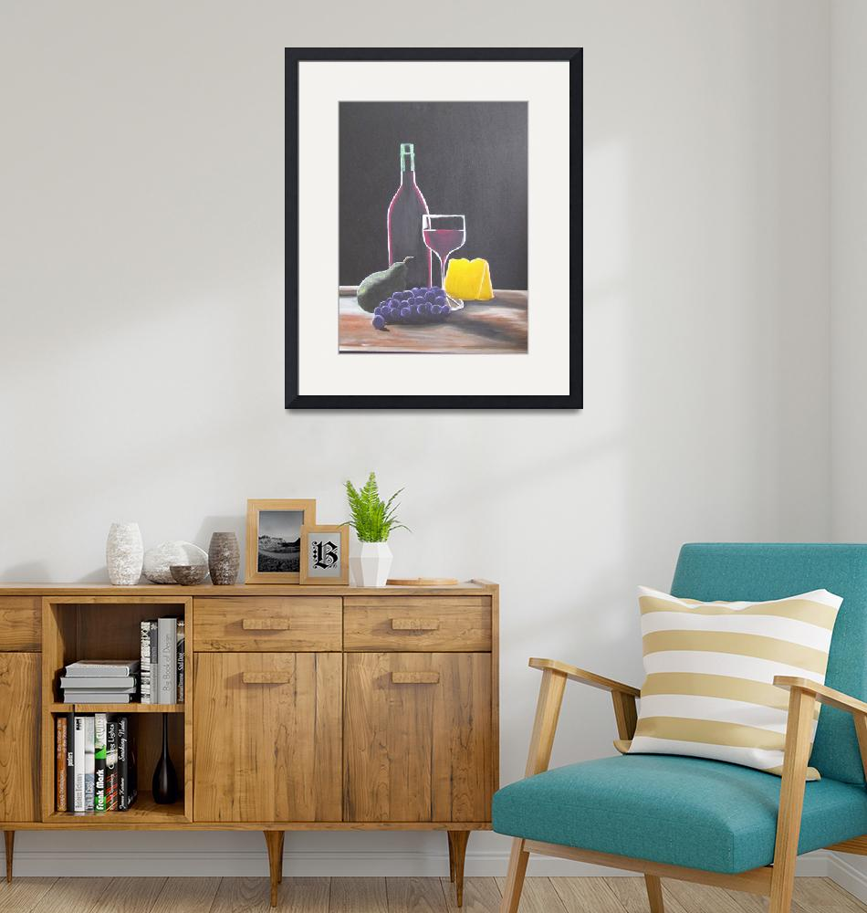 """""""wine and cheese""""  by MelanieLutes"""