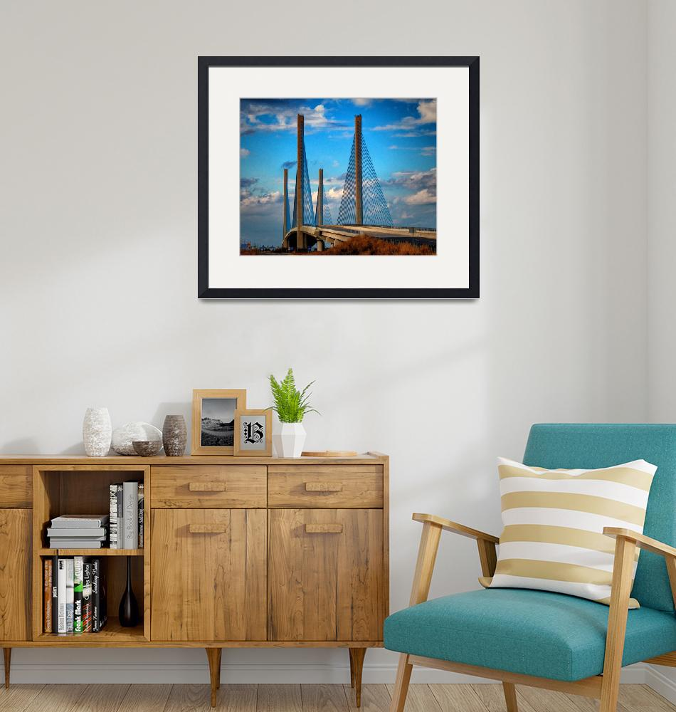 """""""Indian River Inlet Bridge Southern Exposure""""  by travel"""