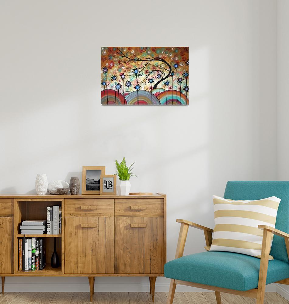 """""spring flowers"" Original Painting""  by meganduncanson"