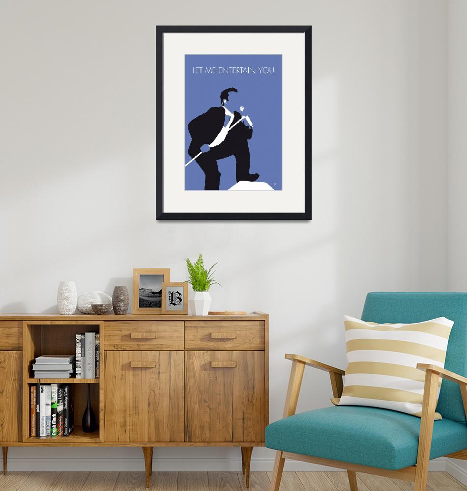 """""""No228 MY ROBBIE WILLIAMS Minimal Music poster""""  by Chungkong"""