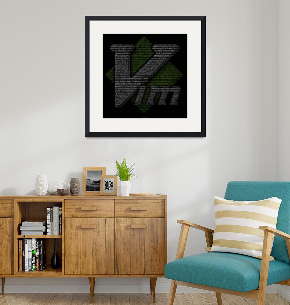 """""""Vim Poster"""" (2010) by 0xfe"""
