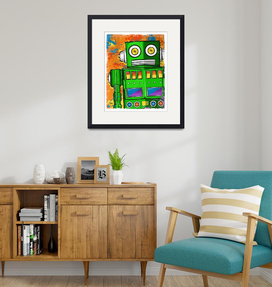 """""""The Green Machine""""  (2013) by tBaneArt"""
