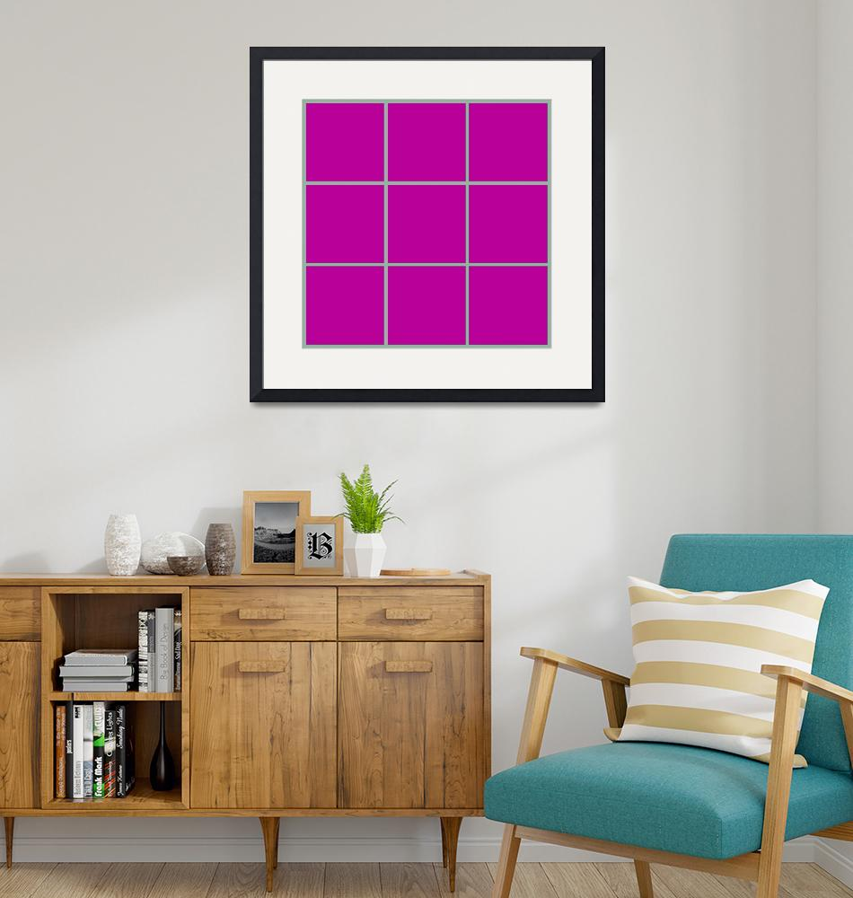 """Violet Window 186 Canvas Contemporary Modern""  (2010) by Ricardos"
