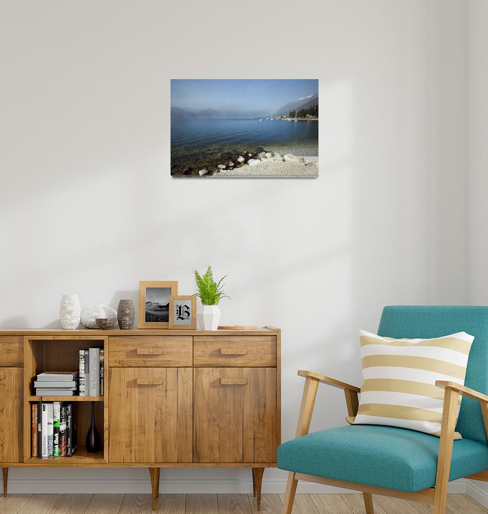 """Lake Garda in Italy""  (2011) by lillisphotography"