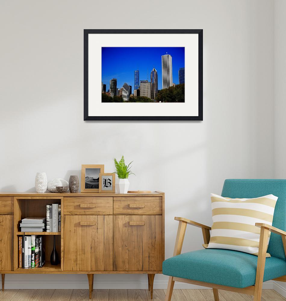 """""""Chicago Skyline 2010 #7""""  (2010) by Ffooter"""