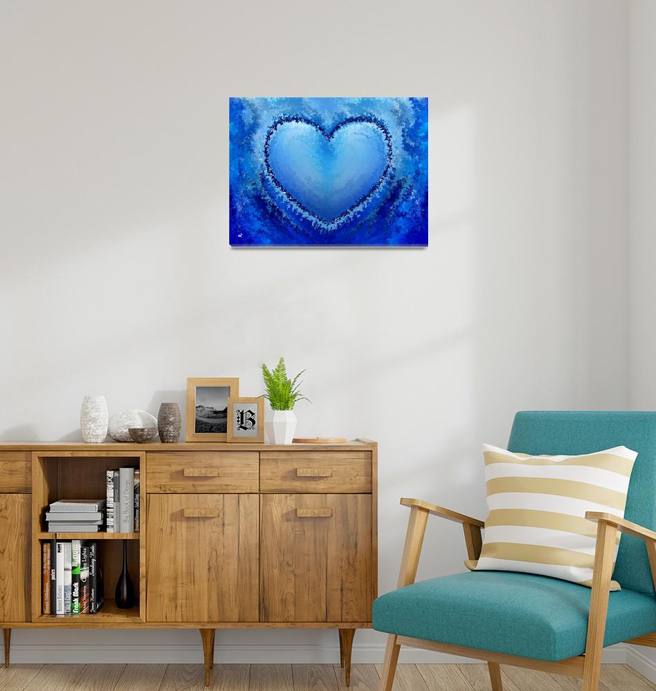 """""""Ice Heart""""  (2011) by RT3D"""