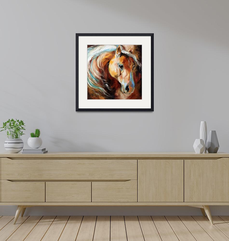 """""""Magic Moments Equine [SIGNED]""""  (2013) by MBaldwinFineArt2006"""