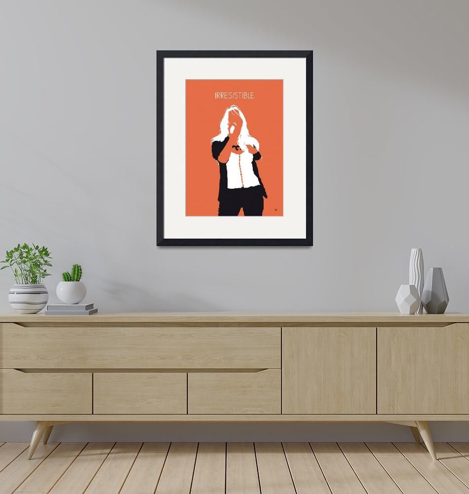 """No293 MY Jessica simpson Minimal Music poster""  by Chungkong"