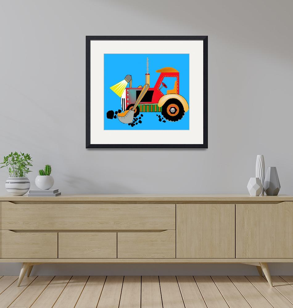 """""""Thomas the Loader""""  by magicalview"""