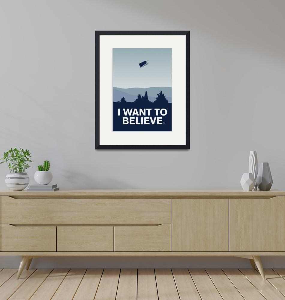 """""""My I want to believe minimal poster-tardis"""" by Chungkong"""
