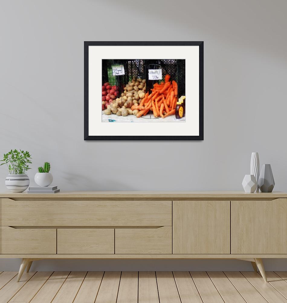 """Carrots Potatoes and Honey""  by susansartgallery"