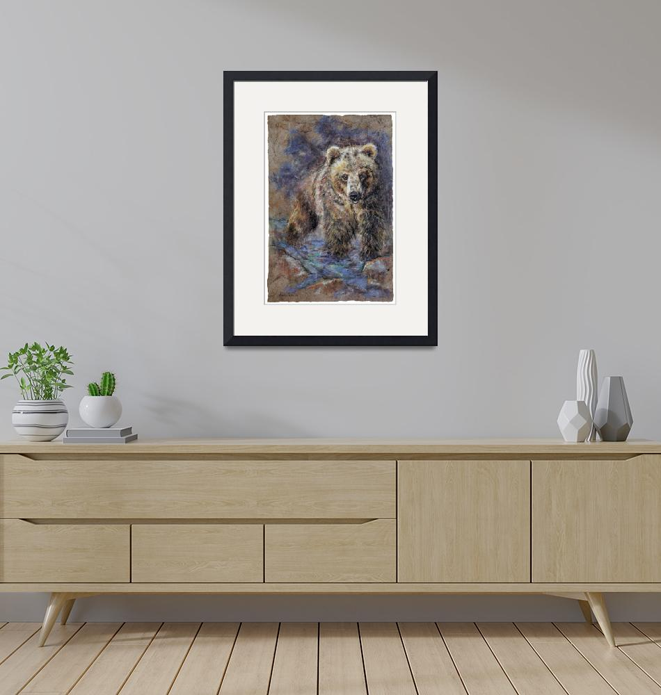 """""""Grizz""""  (2007) by alanacellaire"""