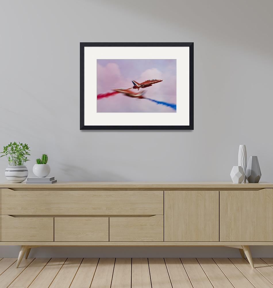 """The Red Arrows Syncro Pair""  (2009) by DestinysAgent"