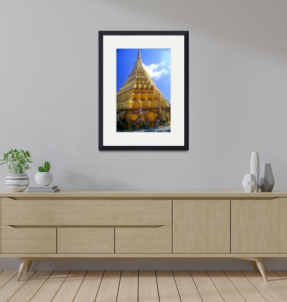 """Golden Pagoda, Glorious Sunshine""  (1995) by JoaoPonces"