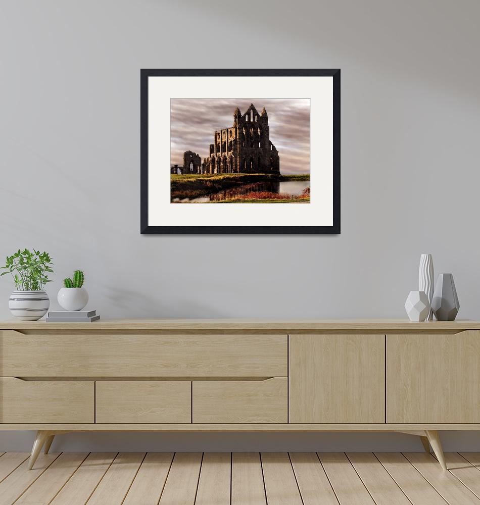 """""""Whitby Abbey""""  (2008) by Bootneck"""
