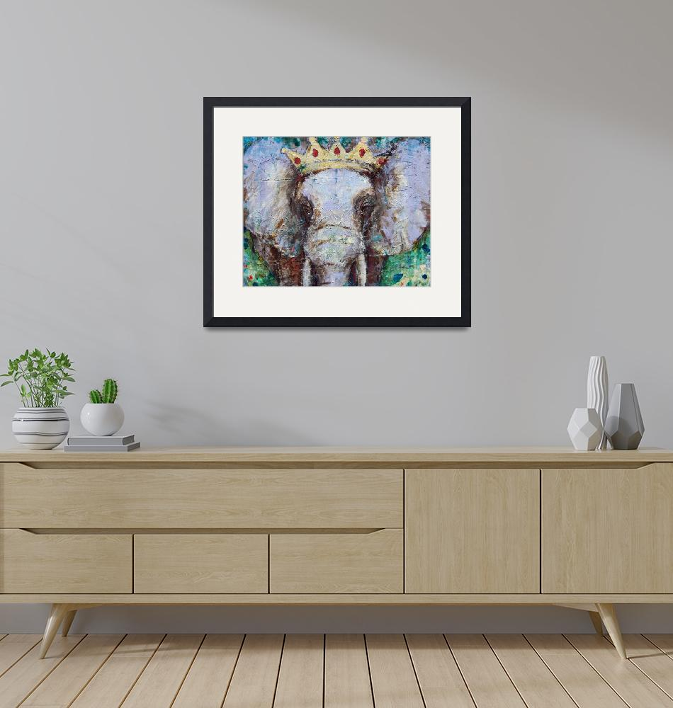 """elephant painting 