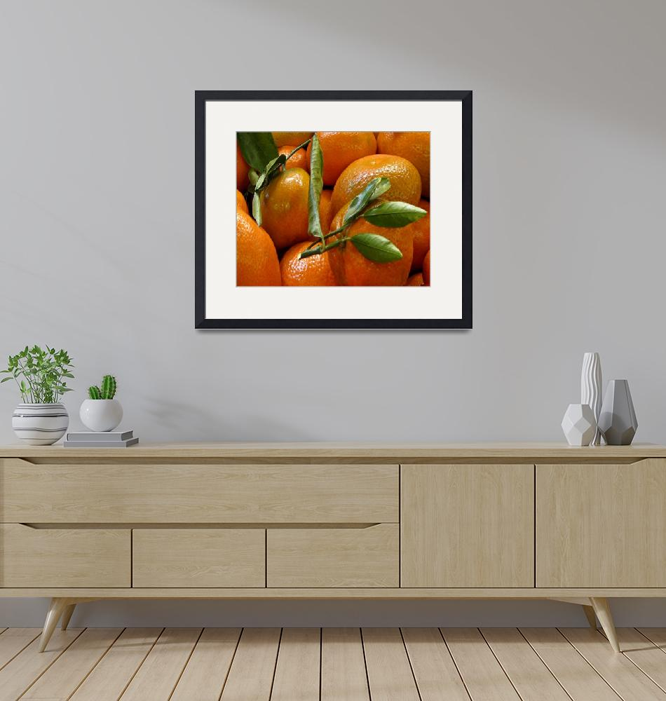"""""""Sweet Tangerines""""  (2013) by patriciaschnepf"""