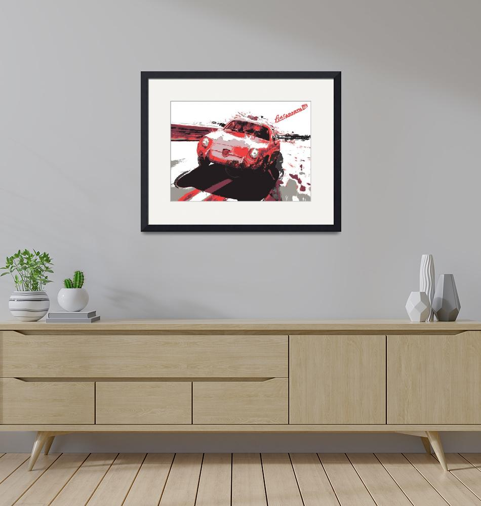 """""""abarth 750 double bubble"""" (2012) by getshaped"""