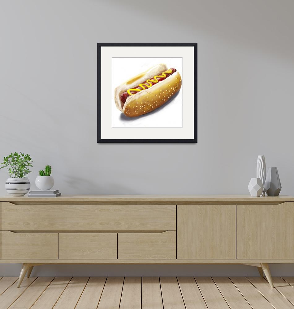 """""""Nothing But a Hotdog""""  (2015) by lincolnhowes"""