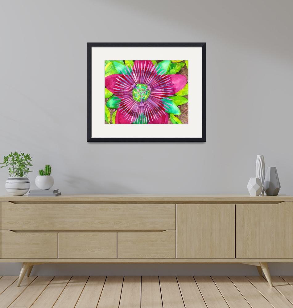 """Passion Flower""  (2010) by laurenmcmullen"