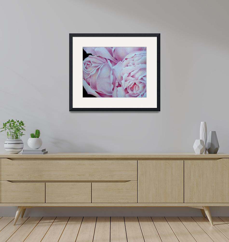 """""""Abstract Pink Roses""""  by terrimeyers"""