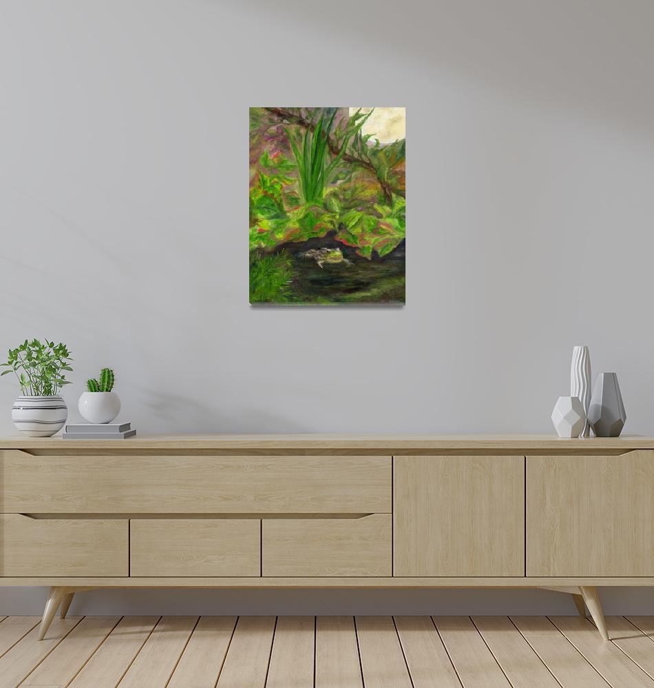 """Frog Medicine""  (2007) by FTMcKinstry"
