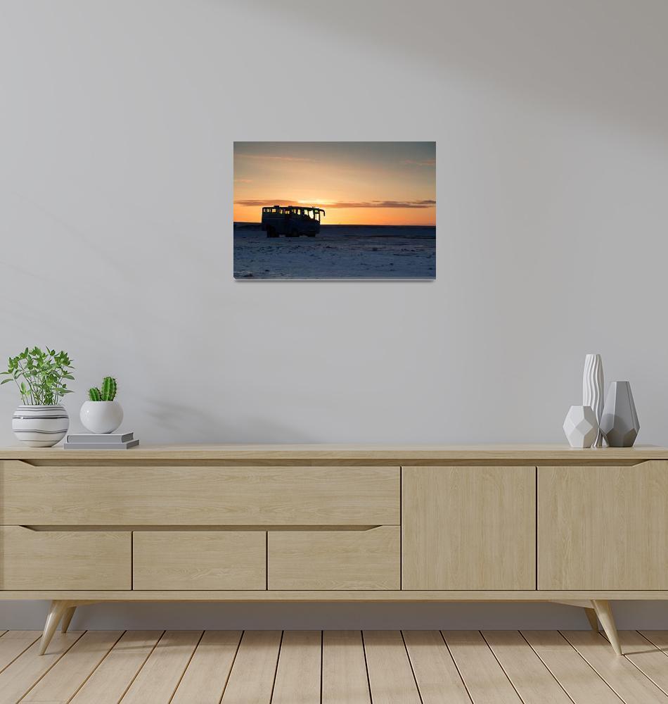 """Icelandic sunrise""  (2015) by SueLeonard"
