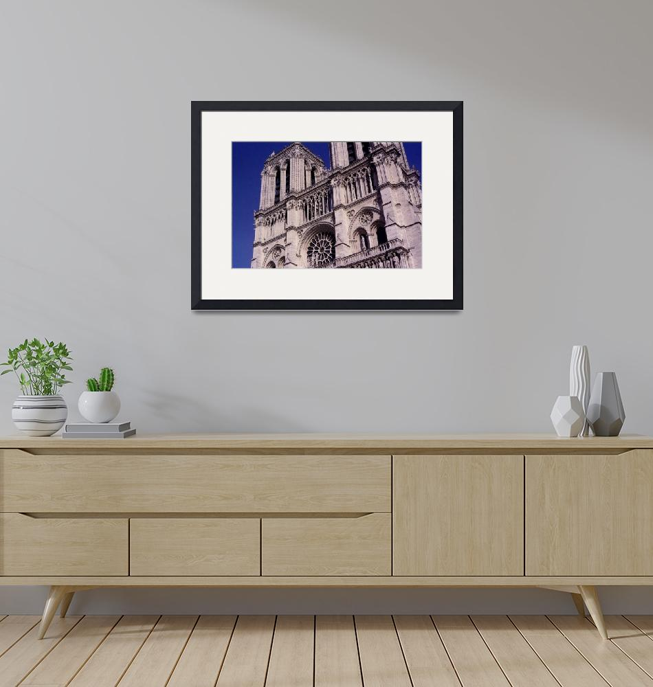 """""""Notre Dame Cathedral""""  (2007) by MichelleLambert"""