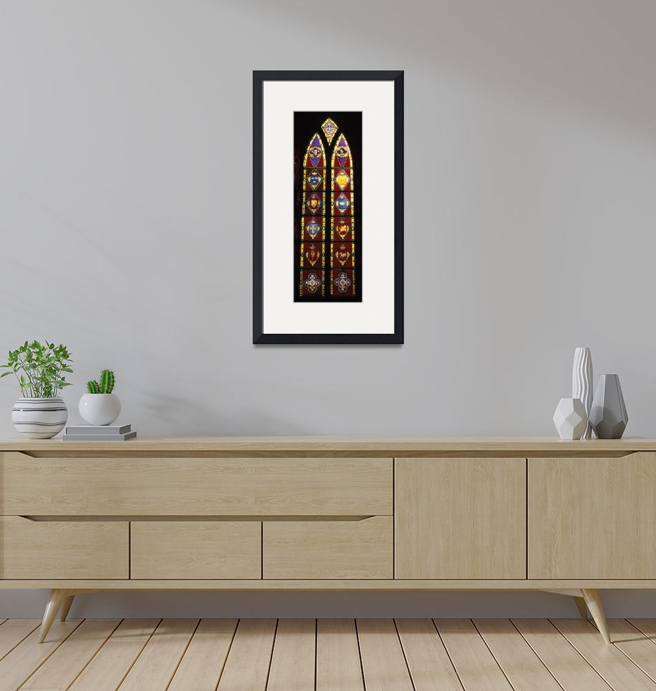 """""""Danish Stained Glass""""  (1997) by mfblumenstock"""