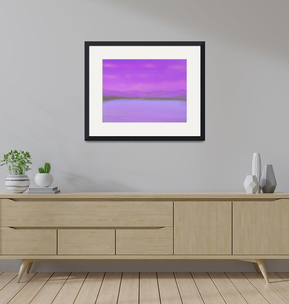 """""""Purple Mountains""""  (2009) by OpheliasKiss"""