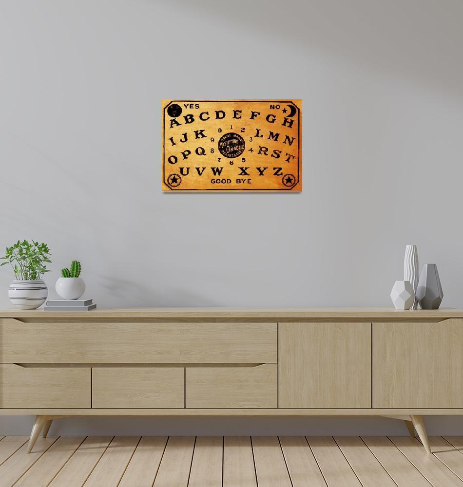 """""""Ouija Board 3""""  (2015) by RubinoFineArt"""
