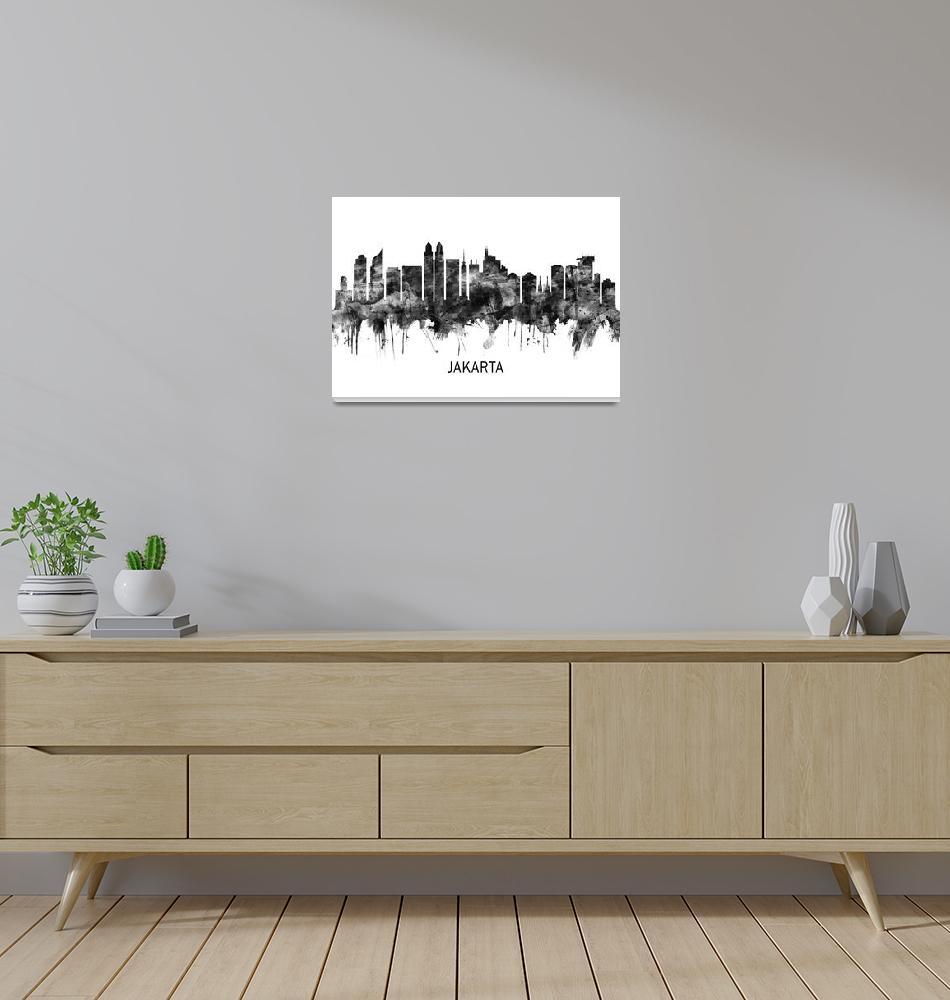 """Jakarta Skyline""  by Towseef"