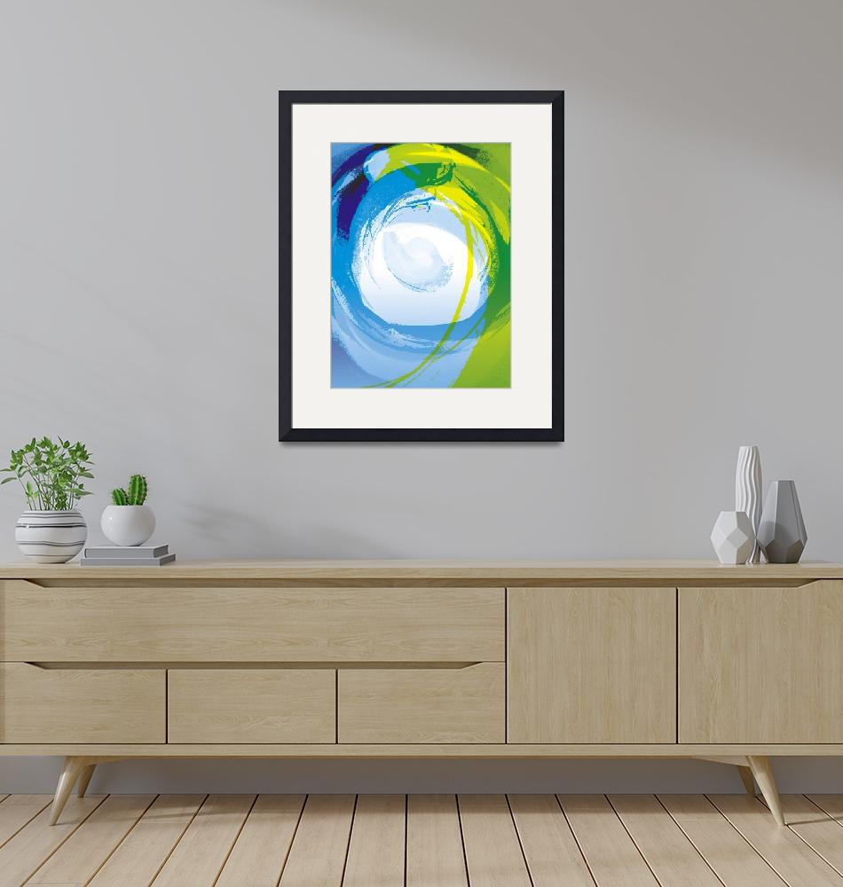 """Blue Enso""  by art4harmony"