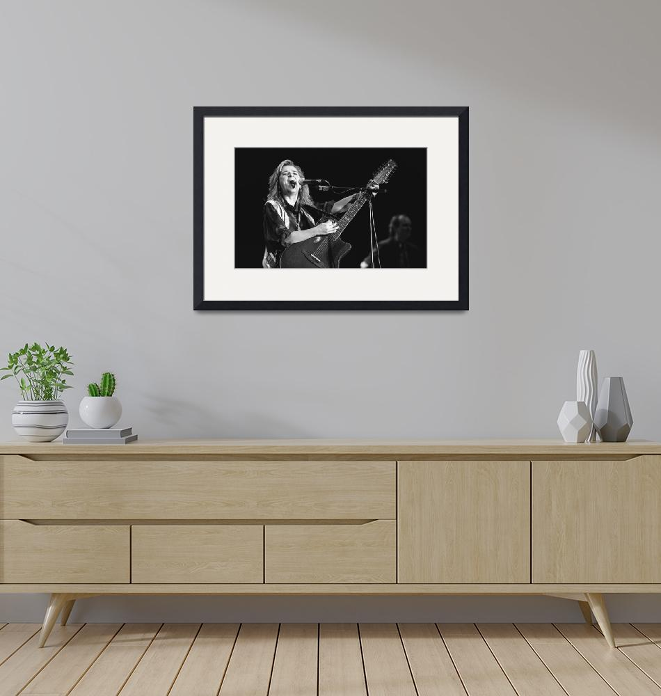 """Musician Melissa Etheridge""  by FrontRowPhotographs"