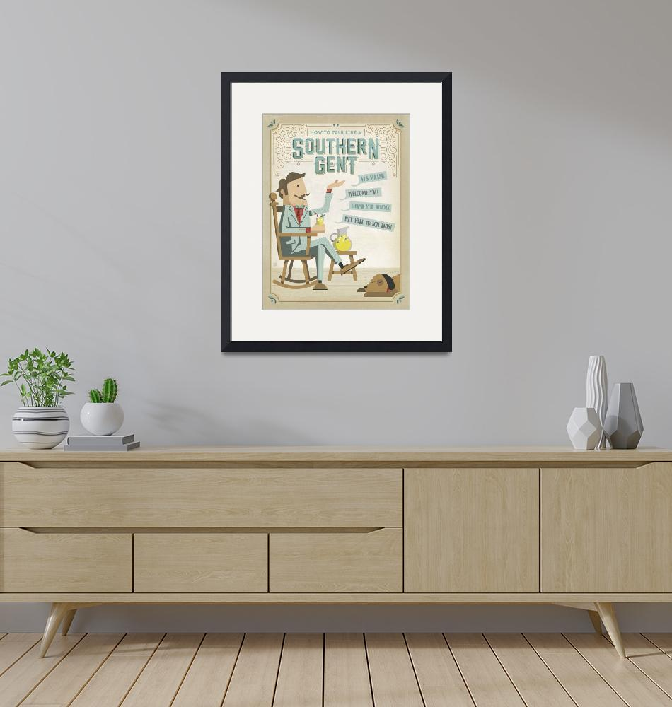 """""""Southern Gent""""  by artlicensing"""