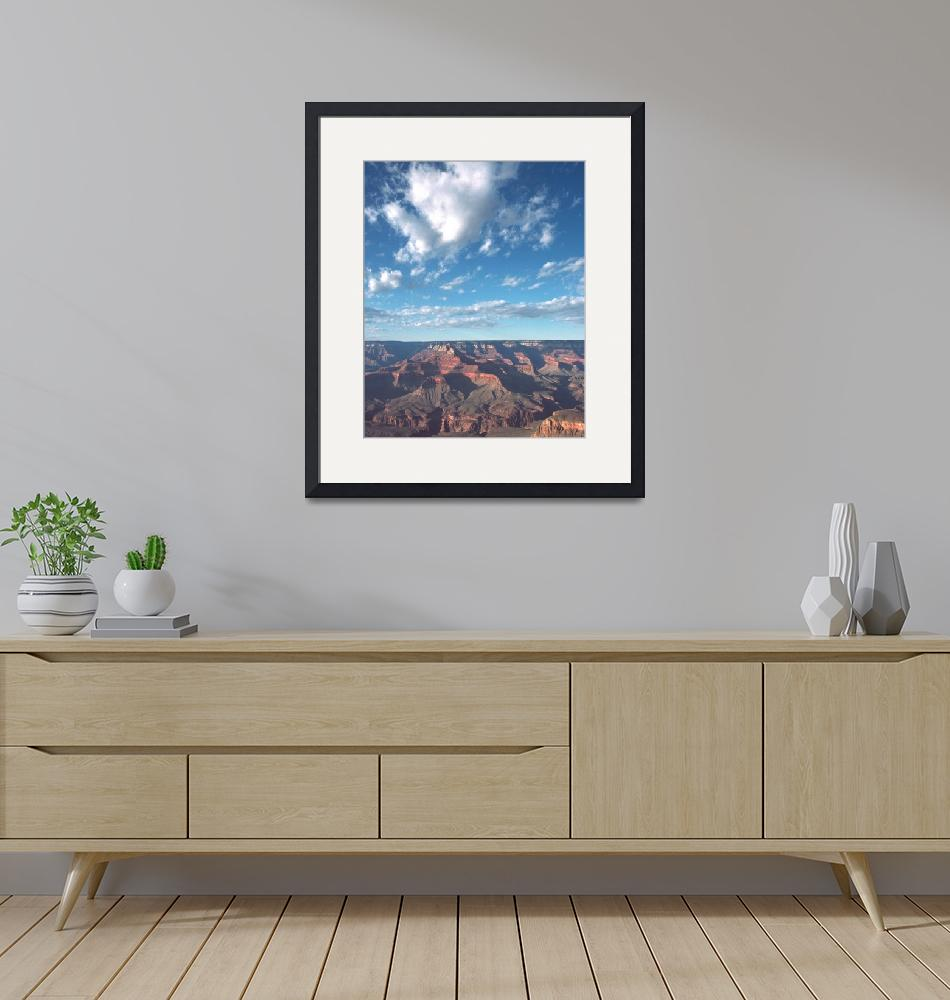 """""""Grand Canyon Clouds""""  (2006) by buffaloworks"""