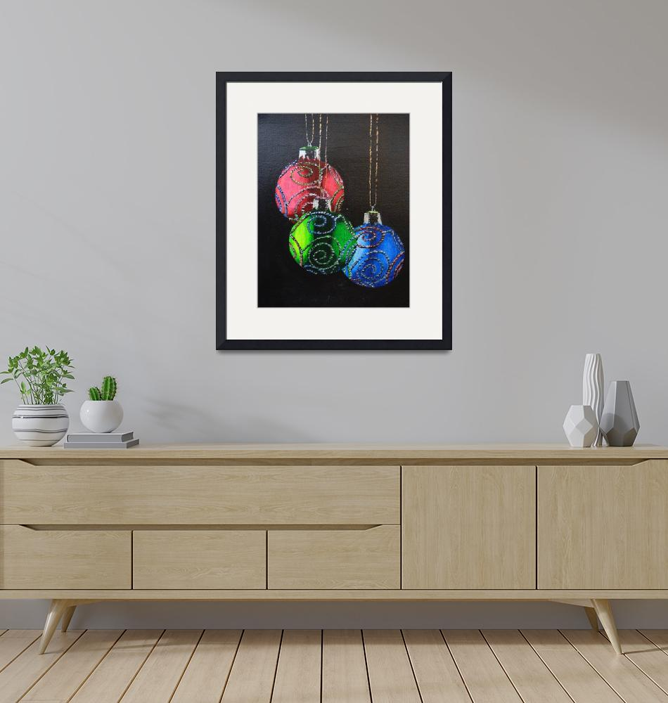 """""""Baubles""""  (2009) by Oggy"""