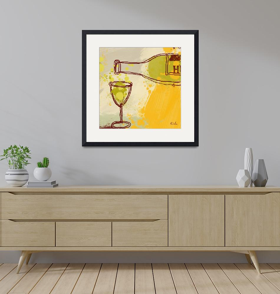 """""""Good wine""""  by Aneri"""